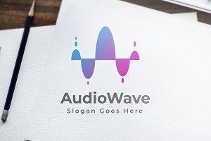 AudioWave - Logo