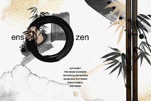 ENSO - ZEN black & gold graphics