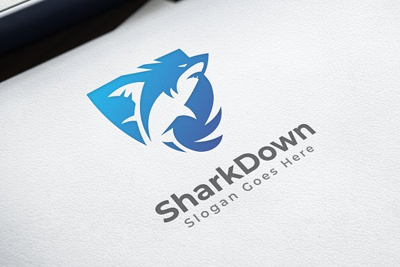 Shark Logo in Logo Templates - product preview 1
