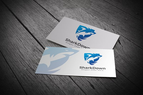 Shark Logo in Logo Templates - product preview 2