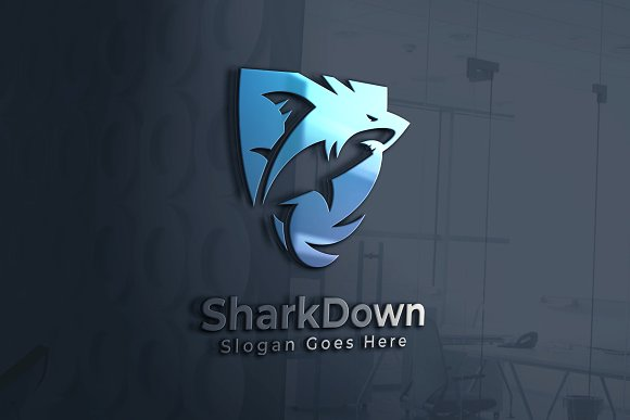 Shark Logo in Logo Templates - product preview 3