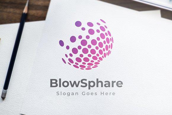 Sphere Pixel Logo