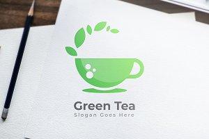 Green Tea - Logo