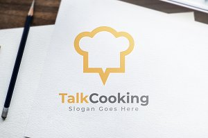 Talk Coocking - Logo