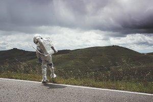 Little Boy Astronaut