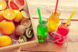 Fruits and beverage