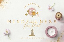 Mindfulness Icon Pack by Diana Hlevnjak in Icons