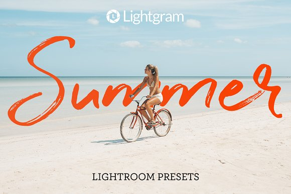 30 Summer Lightroom Presets