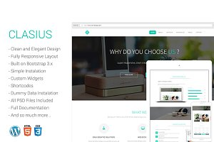 Clasius - Creative Agency Wordpress