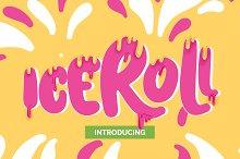 Iceroll Font