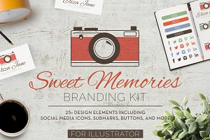 Sweet Memories Camera Branding Kit