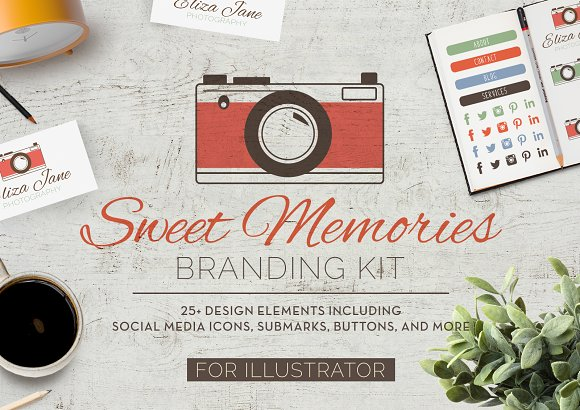 Sweet Memories Camera Branding Kit