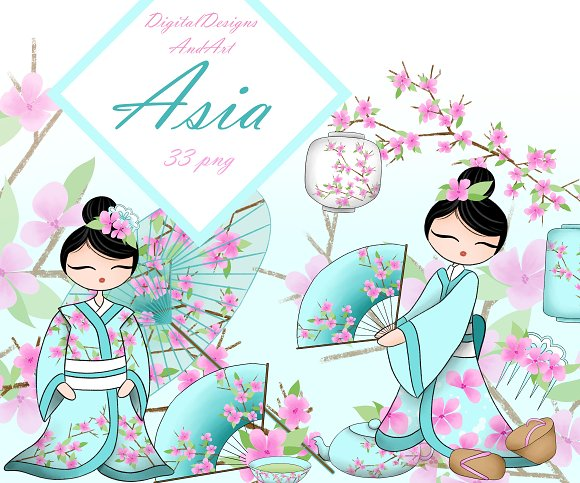 Asia Clipart