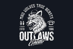 Ghetto Outlaws | Art with Wolf