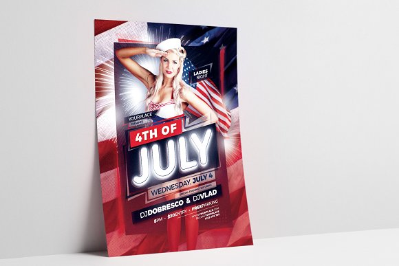 4th of July Flyer / Poster