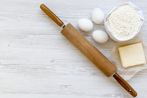 Ingredients for dough preparation