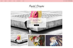 "Wordpress Theme ""Pastel Dreams"""