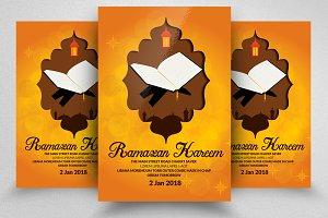 Ramadan Quraan Flyer Templates