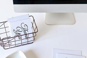 Stock Photo - Thank you Card Desktop