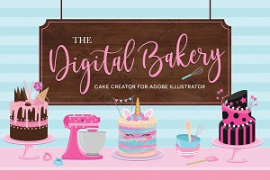 The Digital Bakery-Cake Creator