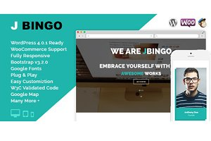 J Bingo Multipurpose Business Theme