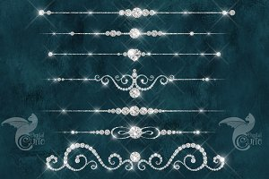 Diamond Dividers Clipart