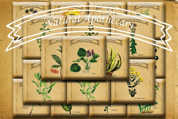 Natural Apothecary Images P1