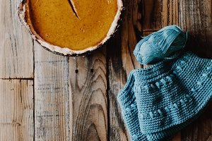 Pumpkin Pie and Yarn