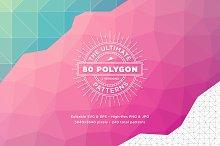 80 Ultimate Polygon Patterns