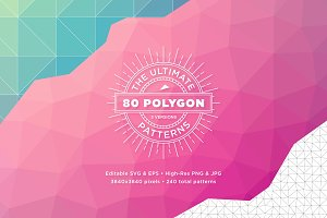 80 Ultimate Polygon Patterns