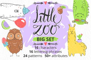 Little Zoo. Characters and patterns!