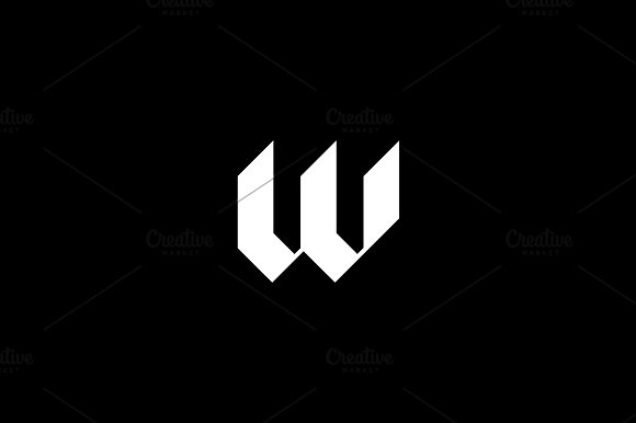 Wainwright Letter W Logo