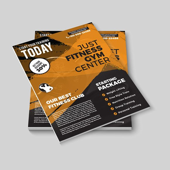 Flyer 127 in Flyer Templates - product preview 3