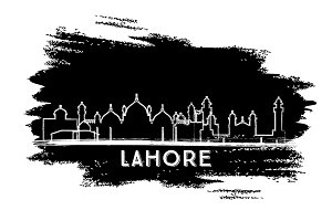 Lahore Pakistan City Skyline