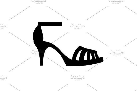 Women's Sandals With Heels Icon