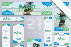 Banners Pack | Fitness Centre