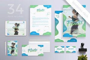 Branding Pack | Fitness Centre