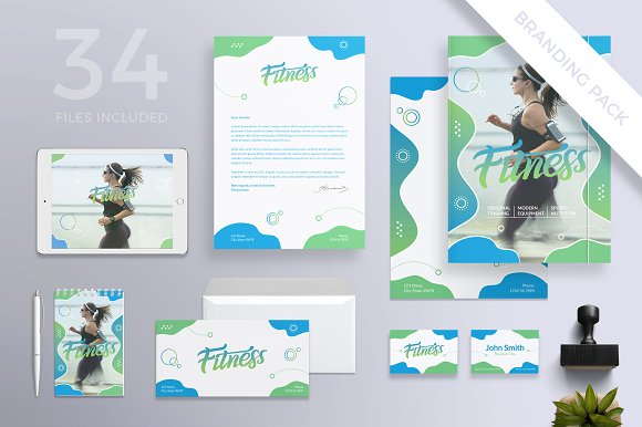 Branding Pack Fitness Centre
