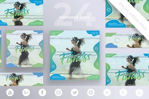 Social Media Pack | Fitness Centre