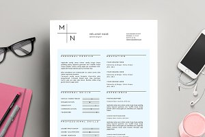Modern CV Template for MS Word