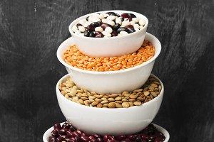 Assortment of beans