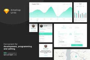 Artoshop UI Kit