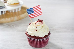 american cupcake in the kitchen