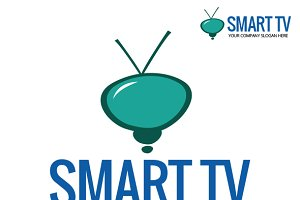 Smart TV Logo Template