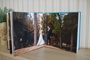 Wedding album and photo book