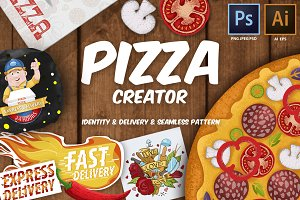 Pizza Creator great set