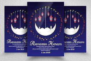 Ramadan Fast Iftaar Flyer Templates