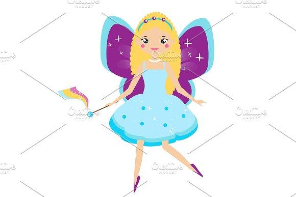 Cute Flying Fairy