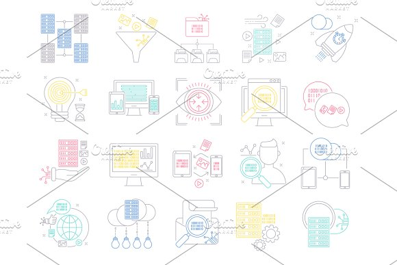 Big Data Icons