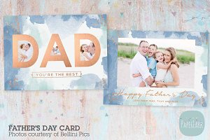 AJ002 Father's Day Card